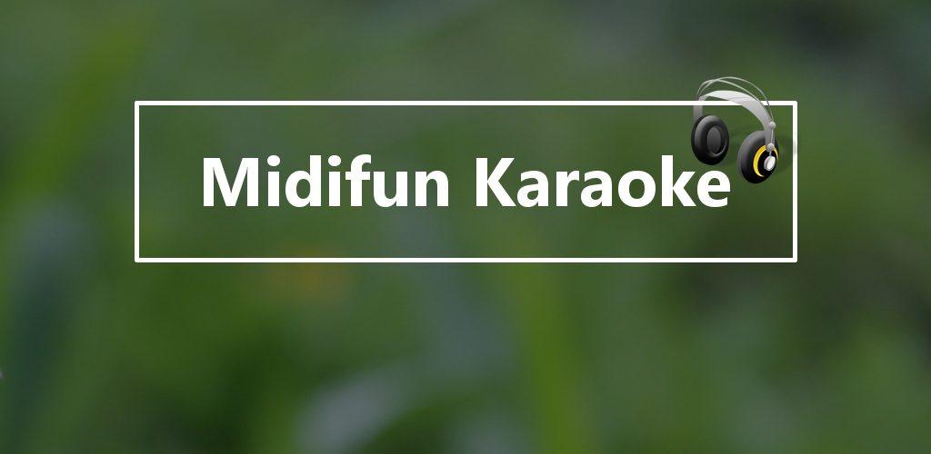 Midifun Karaoke Banner